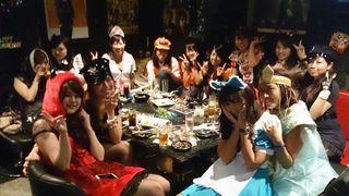 ハロウィン女子会